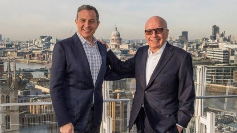 21st Century Fox bought by Walt Disney for $52.4bn