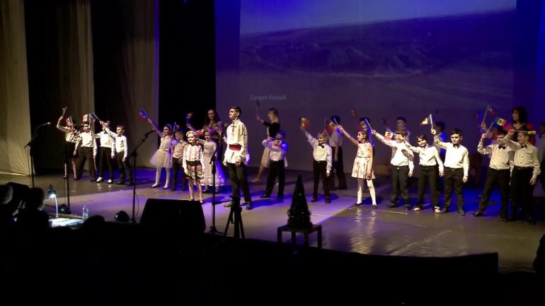 "Children with hearing impairment from No. 12 school organized charity concert ""Allow me to hear you"""