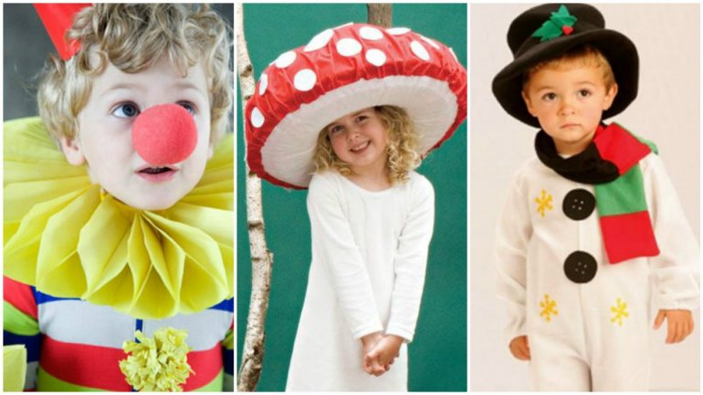Carnival season begins for children. Various shops from Capital offer costumes for rent