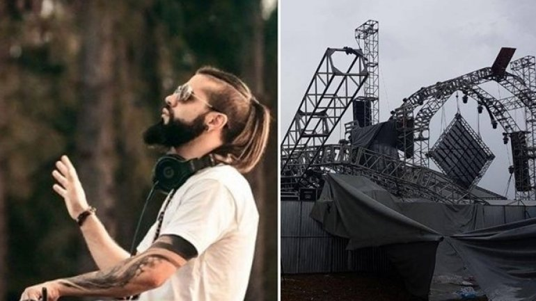 DJ died as stage collapsed within music festival in Brazil