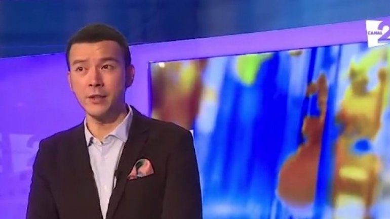 Malaysia's renowned TV presenter discovers Moldova, challenged to host TV shows on Canal 2 and Prime TV