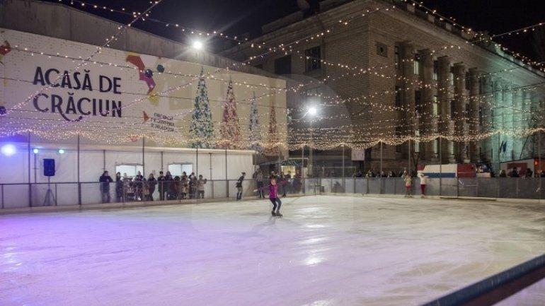 Program of Christmas Fair in Chisinau on New Year's Eve