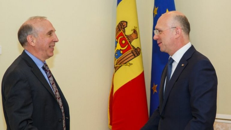 Development in Transnistrian conflict settlement, discussed by Pavel Filip and James Pettit