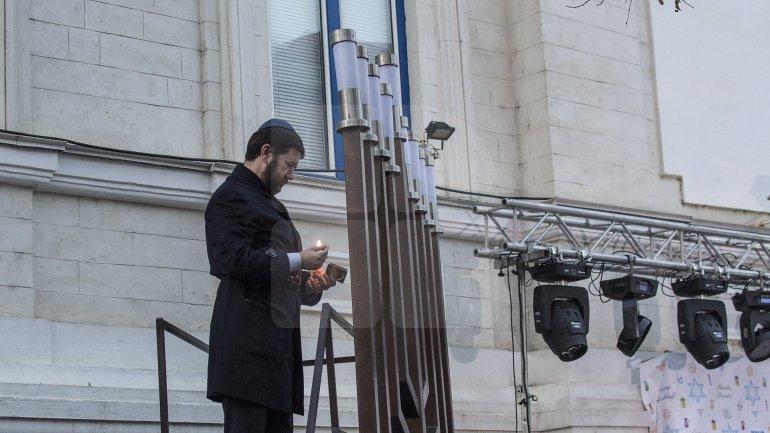Jewish Community of the Republic of Moldova begun celebrating Hanukkah