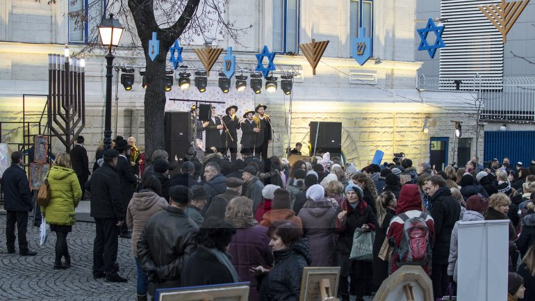 Jewish Community of the Republic of Moldova begun celebrating Hanukkah