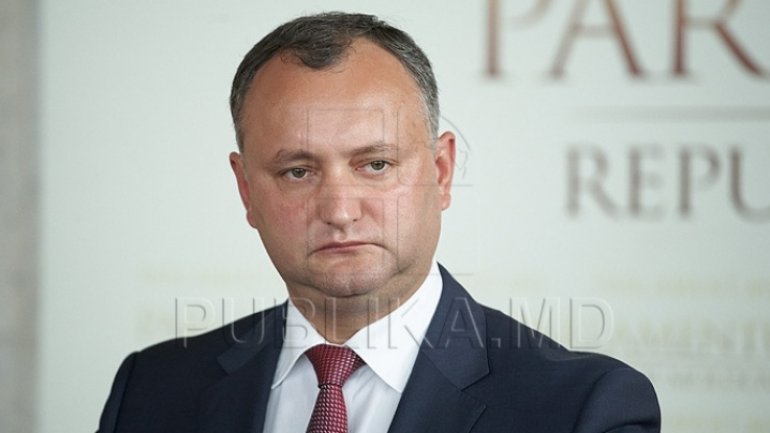 Igor Dodon temporary suspended for third time