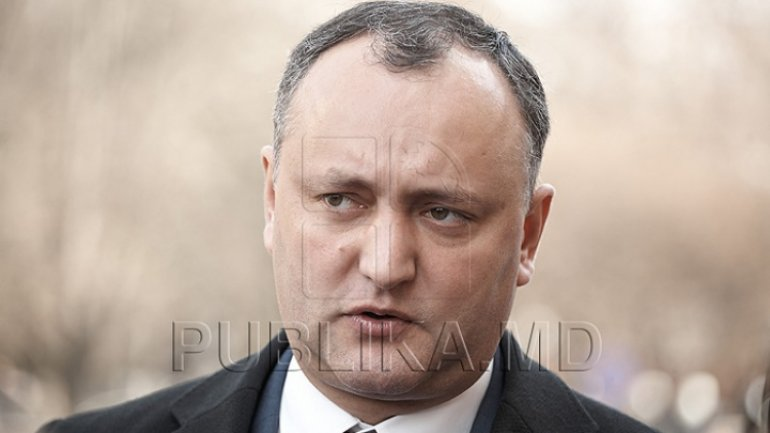 Igor Dodon declared himself resentful toward decision to call back Ambassador of Moldova to Russia, Andrei Neguţă