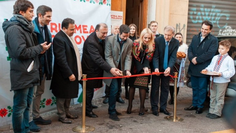 Orhei opened first office of 'My House is Moldova' project in Italy