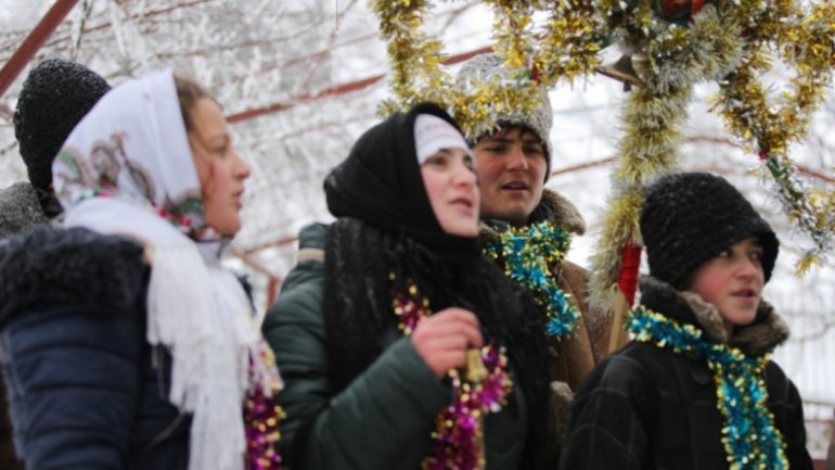 Rîșcani District organized festival promoting winter traditions