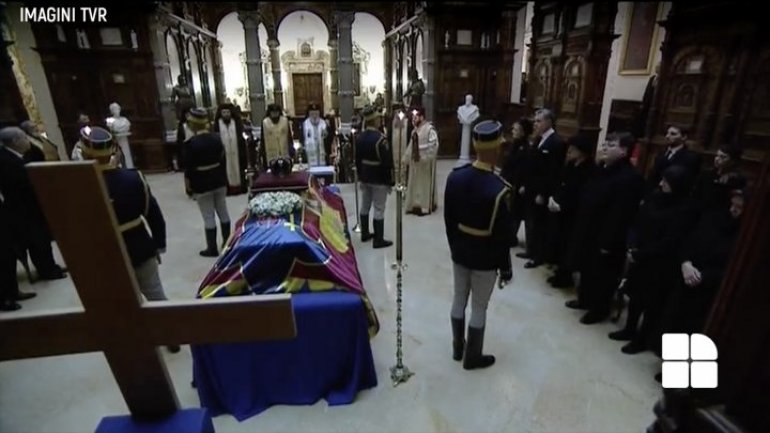 Romanian King returned home. Officials paid last tributes in funeral