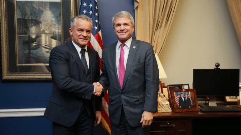 Vlad Plahotniuc talked with U.S Congressmen: Reforms operation and pro-Europe integration advanced