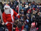 Christmas Caravan organized by government reached in Grozeşti village