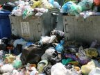 Garbage invaded streets in Bălţi again after two weeks being clean