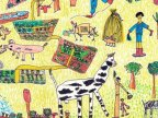 Two children from Europe won FAO's 2017 global World Food Day poster contest