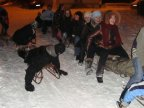 Strong snow brought joy to Moldovan children