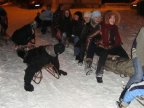 Young people from Capital decided to enjoy themselves on a snowy weekend