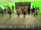 Carols were sung today in Publika TV studio