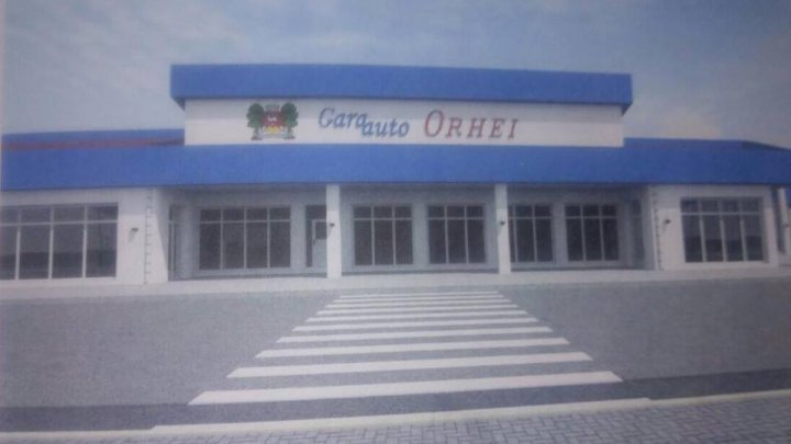 Bus terminal from Orhei renovated