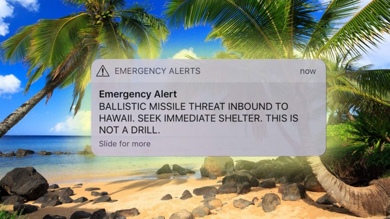 False missile alert sent Hawaii into panic. People ran for cover