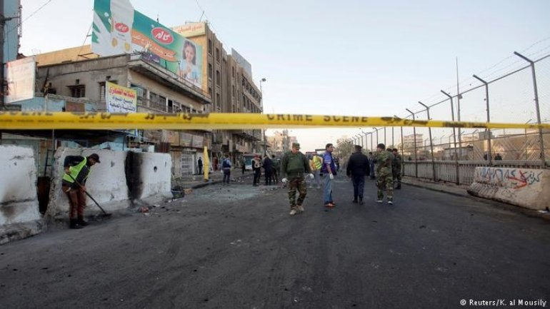 Suicide bombing in Baghdad claimed lives of at least two dozen people