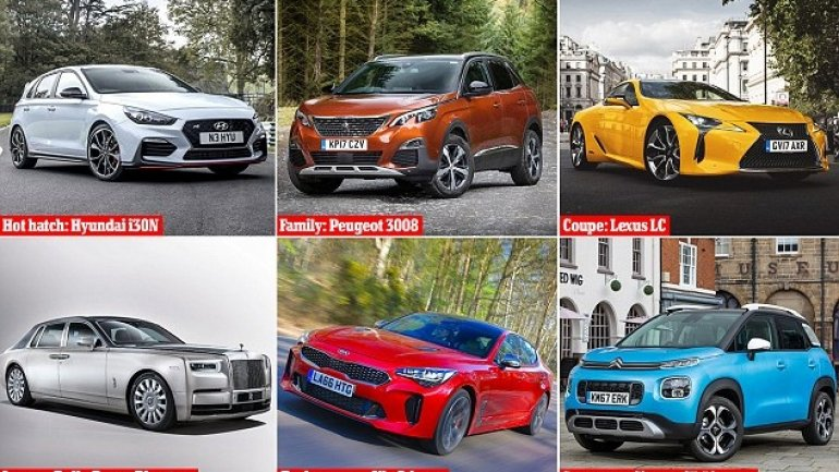 13 best new cars of 2018. How does crowned Car of the Year look like?