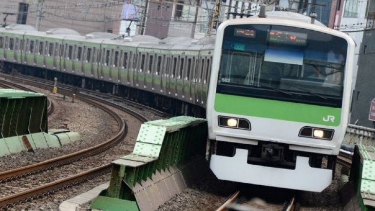Japanese train speaker barks like a dog to scare away deer and reduce number of animal deaths on railway