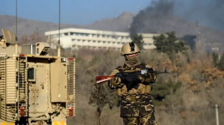 Afghan troops rescued 160 people after luxury hotel siege