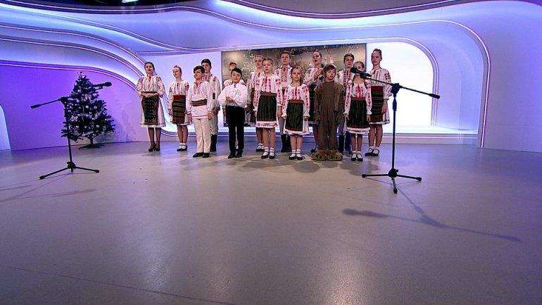 Busuioc ensemble gave performance on PUBLIKA TV