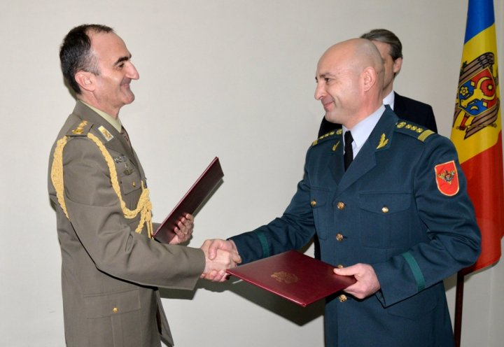 Italy donated equipment and military technology to Moldova's Armed Forces
