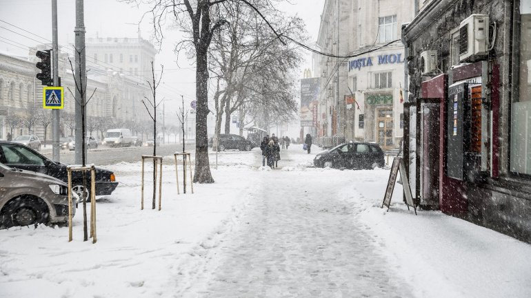 Snow fell in Moldova. Beauty of Chisinau during winter (PHOTOREPORT)