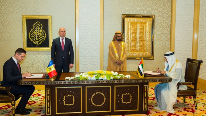 Two agreements signed between Republic of Moldova and United Arab Emirates