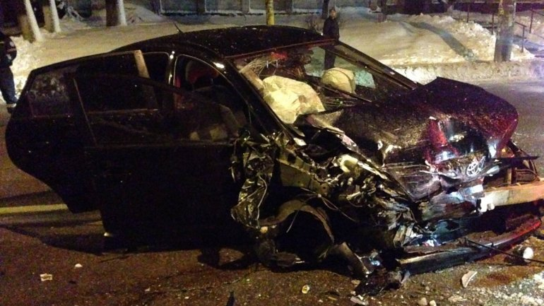Drunk driver caused car accident in Capital: 1 deceased and 4 injured