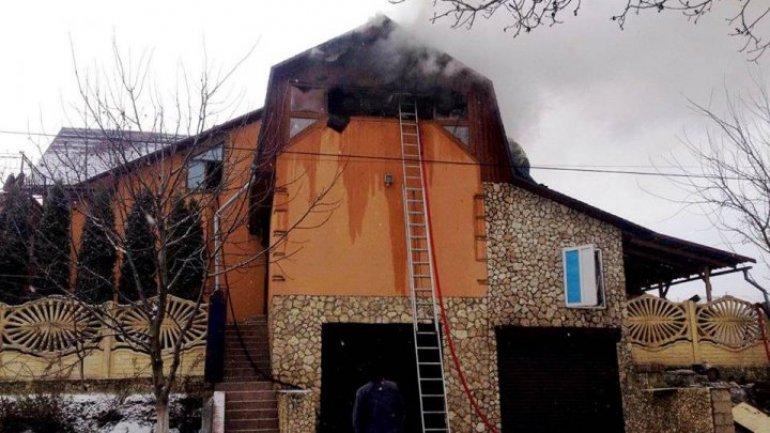 Inferno in sauna of Ratuș village: Damage amounted up half a million lei
