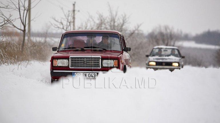 Bălți buried under snow. People displeased by City Hall's attitude