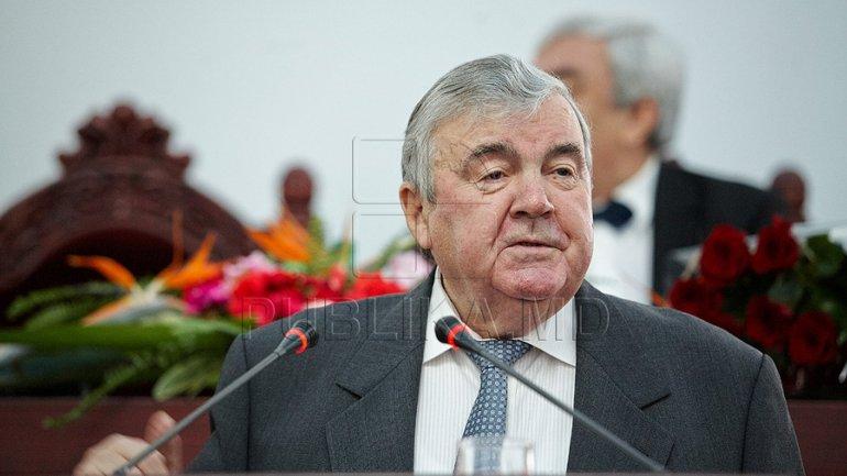 Moldova's first President Mircea Snegur celebrates 78th birthday