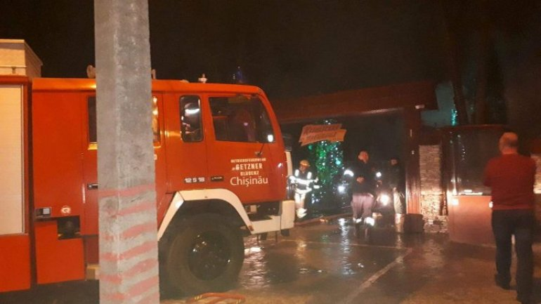 Large-scale fire broke out in Chisinau restaurant: Two men seriously hospitalized