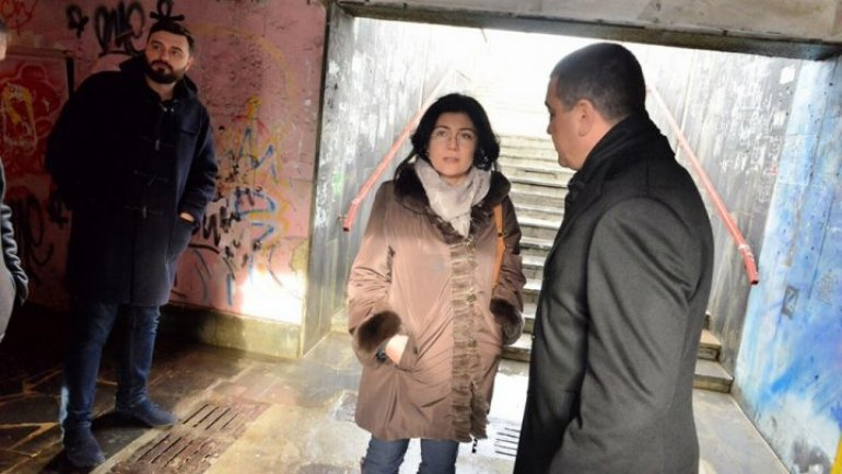 Interim Mayor of Chisinau brought about underpass repair work on Viaduct