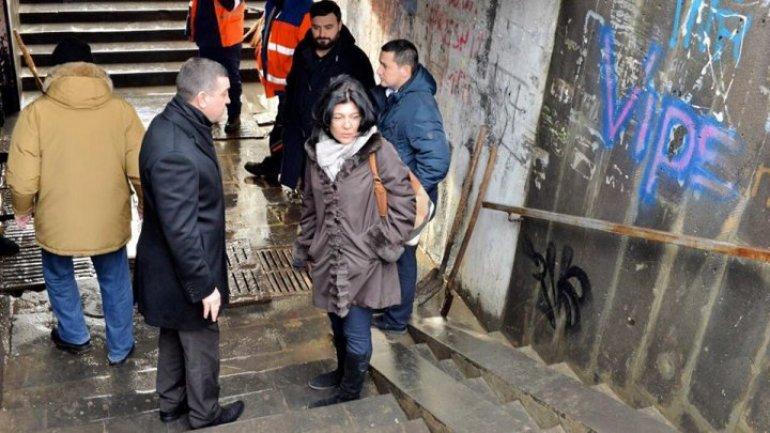 Interim Mayor of Chisinau brought about underpass repair work on Viaduct