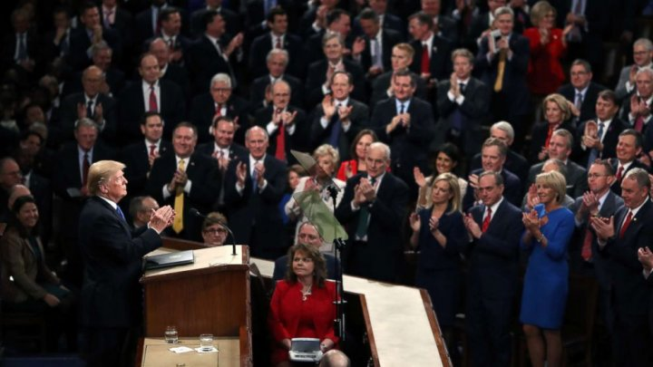 Donald Trump 's full speech at State of the Union