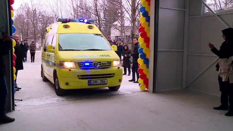New Emergency Care Unit at hospital from Hânceşti