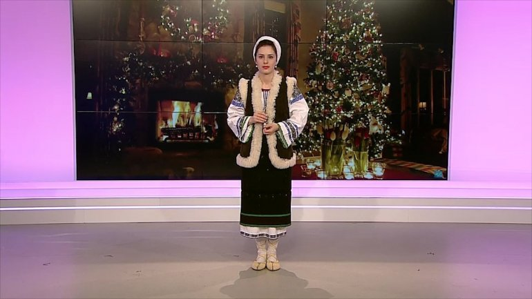 Merry Christmas! Singer Doina Sârbu came to PUBLIKA TV studio to make this day even more special