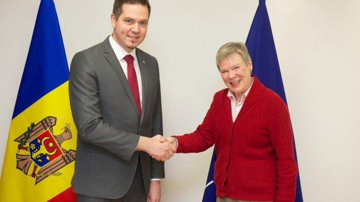Meeting between Minister Tudor Ulianovschi and NATO Deputy Secretary General Rose Gottemoeller