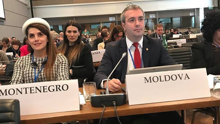 Request to withdraw Russian troops illegally stationed in Moldova, reiterated in OSCE Parliamentary Assembly