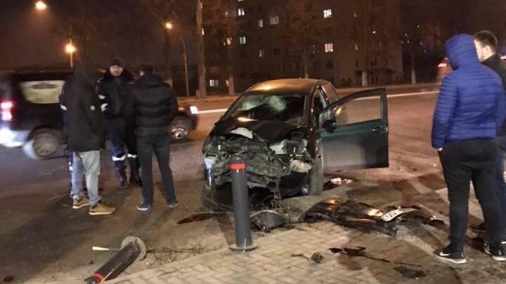 People hospitalized last night after multiple car crashes around the Capital