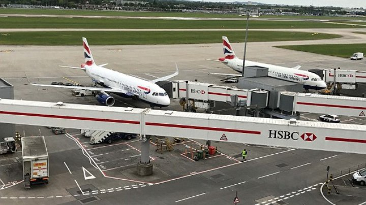 London Heathrow Airport evacuates passengers after accident involving two vehicles on the airfield