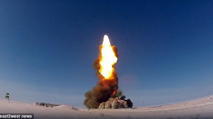 Terrifying footage showing Vladimir Putin's upgraded anti-missile rockets