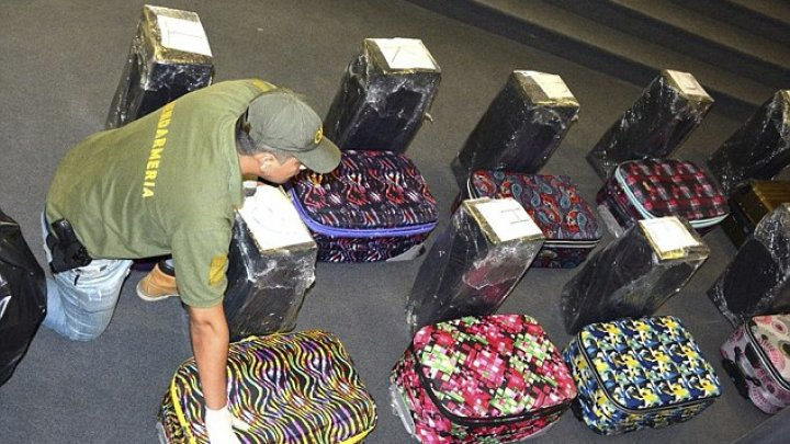 Drugs worth $50 mln confiscated from Russian embassy in Buenos Aires