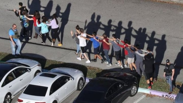 Mass shooting in a High School from Florida. At least 17 dead