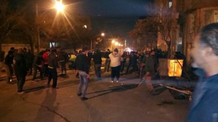 Five Iranian security personnel killed in clashes with members of a Sufi Muslim group
