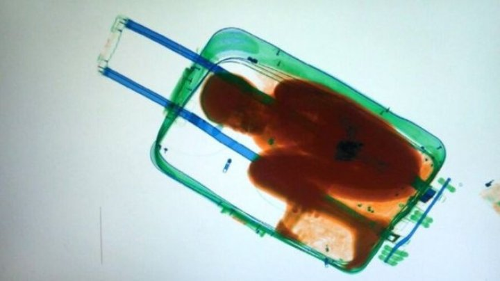 Father of eight-year-old smuggled into Spain from Morocco in a suitcase freed